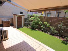 Home Landscaping, Backyard, Patio, Places To Visit, Sidewalk, Deck, Landscape, Interior, Garden