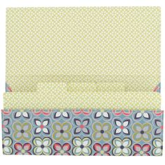 Linear floral ticket file - All Filing & Storage - Filing & Storage - Stationery