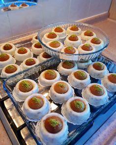 Iftar, Nutella, Turkish Recipes, Ethnic Recipes, Fudge, Dessert Decoration, Almond Butter, Mini Cupcakes, Cheesecake