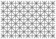 この画像の黒点が12個同時に見えない奴wwwwww