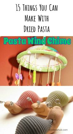 15 Craft Items You Can Make From Dried Pasta