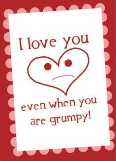 10 different printable Valentines
