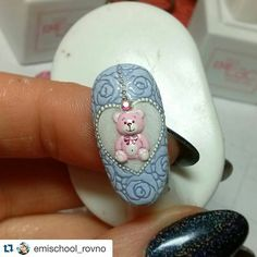 """« with ・・・ А завтра у нас """"Нейлкруст""""))! Nailcrust will be tomorrow! Animal Nail Art, 3d Nail Art, Nail Art Hacks, Baby Nails, Pink Nails, Cute Nails, Pretty Nails, 3d Acrylic Nails, Modern Nails"""