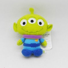 Disney Toy Story 3 Alien 8cm doll strap (Imported from Japan)