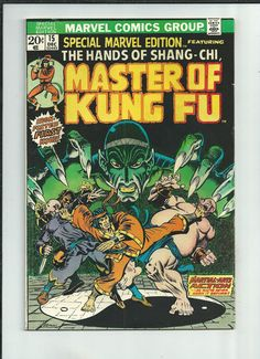 SPECIAL MARVEL EDITION #15 Grade 6.0 Key Bronze Age issue: First Shang-Chi! http://r.ebay.com/N5JJqU