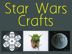 We& found some great Star Wars themed craft projects to share with you. So put the light saber down and pick up your crafting tools and take a look. Arts And Crafts, Paper Crafts, Diy Crafts, Star Wars Crafts, Paper Design, Craft Projects, Craft Ideas, Light Saber, Crafting Tools