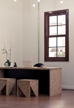OSB para interiores #casaMyA - Ana Pla - interiorismo y decoración