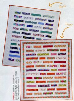 Double the Fun Kit - featuring Terrain Fabrics. Kit includes Quilts and More Spring 2012 Magazine with Pattern. $101.49
