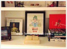 Quadros Impressos em Casa - DIY PAP Papel Reuse