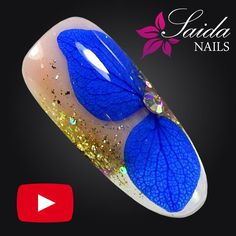 Nail Art Videos, Nail Tutorials, Nail Manicure, Dried Flowers, Nail Art Designs, Nailart, Pink, Ideas Para, Beauty