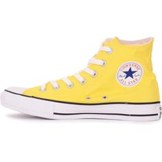 68 Trendy How To Wear Yellow Sneakers Adidas Converse All Star, Converse Shoes, Converse Chuck Taylor, Shoes Heels, Yellow Sneakers, High Top Sneakers, High Heels, Estilo Boho, Nike