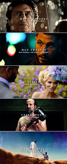 American Gods ↳ The Old Gods [Pt. 1]