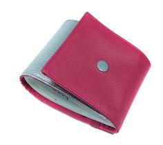 porte chéquier long en simili cuir bicolore femme : Porte-monnaie, portefeuilles…