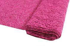 Spitze Pink mit Bogenkante