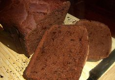 Chocolate bread (for the bread machine)