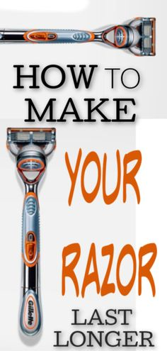 Budget Tip: Get your Razors to last longer! Get your money's worth from . Learn tips on how to get your razors to last longer Ways To Save Money, Money Tips, Money Saving Tips, Living On A Budget, Frugal Living, Simple Living, Gillette Razor, Savings Jar, Money Saving Challenge