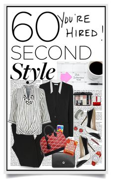 """60-Second Style: Tech Job Interview"" by shortyluv718 ❤ liked on Polyvore featuring Balenciaga, Helmut Lang, Samsung, River Island, Faber-Castell, Louis Vuitton, Christian Dior, Cross, Anne Klein and MSGM"
