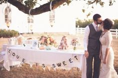 i really like the look of this dessert table