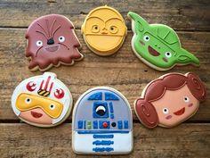 chibi star wars cookies: