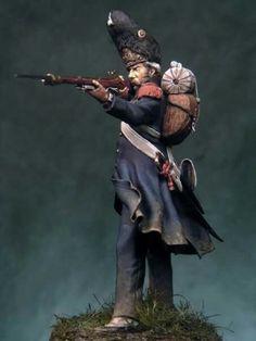 FIGS- Horan: Old guard grenadier at Waterloo - Bill Horan