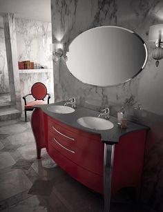 mobile belvedere rosso mia italia bathroom