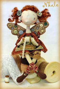 NKALE :-) At the heart of each toy.....(a tiny, sewing fairy? i SEW want one!)....
