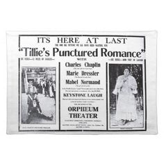 flano tillie's punctured romance