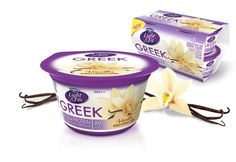 Light & Fit Greek - Vanilla My new favorite thing! 12 g of protein and only 80 calories but it's a pretty large container LOVE IT