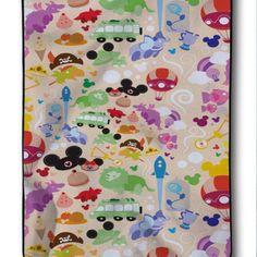 Disney All Character Custom Blanket