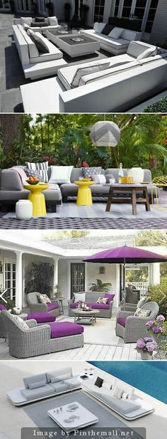 50 Shades of Gray - Ideas for gray in your outdoor room