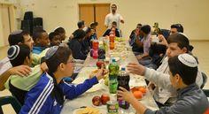Tu B'shevat Seder at a school in Israel