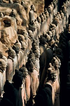Terracotta Warriors, Xian in China
