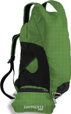 Chicobag Daypack ($24.99). Made of recycled ripstop fabric for lightweight, eco-conscious travel, this compact backpack is the perfect gift for the traveler in your life. #travel #hiking