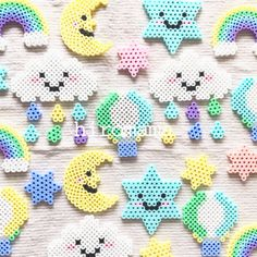 It is an order reception page. ´͈ω`͈ ꒱ Please do not purchase this. We will accept order - Easy Perler Bead Patterns, Melty Bead Patterns, Diy Perler Beads, Perler Bead Art, Pearler Beads, Fuse Beads, Beading Patterns, Hamma Beads Ideas, Art Perle