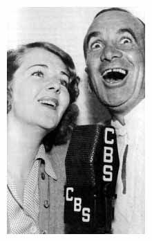 Ruby Keeler and Al Jolson.
