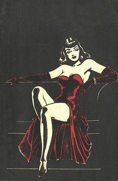 fuckyeahvintage-retro: 1940s Pulp Art by R&R Giordan http://ebay.to/1MkkL4b