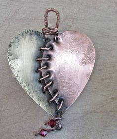 Who says you can't mend a broken heart? I love this!
