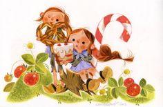 Annette Marnat - Hansel and Gretel