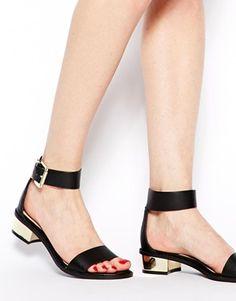 Image 4 ofASOS FLUENT Sandals