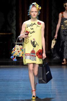 Dolce & Gabbana Lente/Zomer 2016 (1)