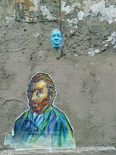 street art cute and c. Best Graffiti, Graffiti Wall Art, Mural Art, Urban Street Art, 3d Street Art, Street Art Graffiti, Amazing Street Art, Amazing Art, Awesome