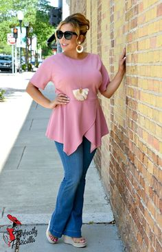 Look and feel your best with our trendy plus size clothing, with current fashion styles and trends to fit the curvy girls. Trendy Plus Size Clothing, Plus Size Outfits, Scarf Dress, Summer Fashion Outfits, Spring Collection, What To Wear, Curves, Favorite Things, My Style