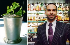 """When non-drinking customers approach bartender Julian Cox, they don't have to settle for a boring club soda or ginger ale. """"That wouldn't really make their day,"""" says the award-winning mixologist. """"I want them to feel happy, to have fun."""" Known for designing the cocktail programs at some of the best restaurants in Los Angeles, he considers the alcohol-free cocktail an opportunity for creativity – and says it's something people can have fun with at home, too."""