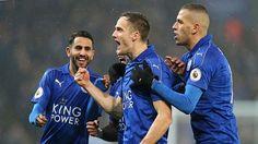 Cuplikan Gol Liga Inggris Leicester City vs Manchester City 4-2