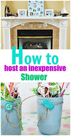 Shower Decorating Ideas With Mason Jars