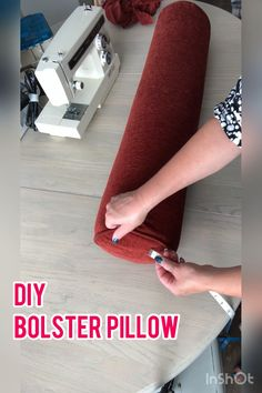 Diy Sewing Projects, Sewing Hacks, Sewing Tutorials, Sewing Crafts, Sewing Pillows, Diy Pillows, Cushions, Sewing Stitches, Sewing Patterns
