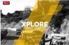 Xplore Magazine cool PowerPoint template