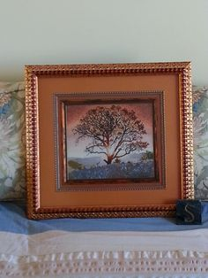Artistic landscapes - tree, designed by Cross My Heart (framed by a pro - worth the money!)
