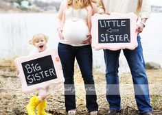 Maternity, big sister-little sister
