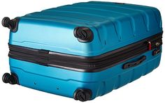 Samsonite Omni PC Hardside Expandable Luggage with Spinner Wheels, Caribbean Blue, Set Cheap Luggage Sets, Luggage Brands, Samsonite Luggage, Major Airlines, Travel Luggage, Travel Essentials, Luxury Travel, 3 Piece, Caribbean